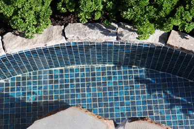 The Australian Garden Show|Trend Brilliante 245 glass mosaic tiles